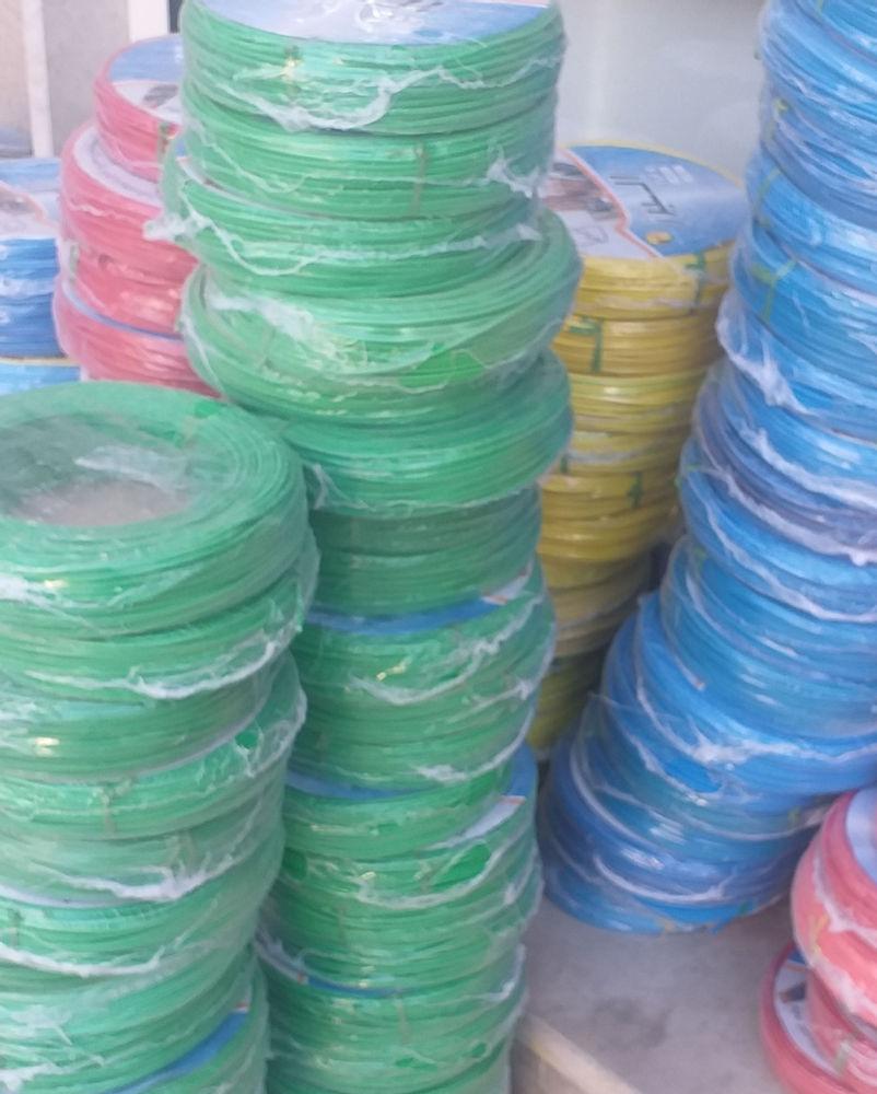 فروشگاه تاسیساتی شیخی سیم ۱/۵و ۲/۵ ارسال به تمام نقاط کشور  عمده و خرده  بسته بندی۱۰۰متری روکشpvc