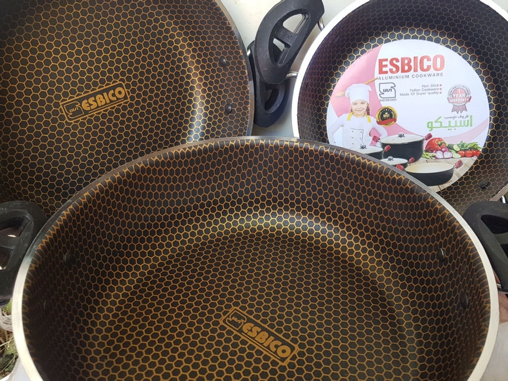 ارزانکده عجیب سرویس تابه دو دسته داخل زنبوری  سایز ۲۰.۲۴.۲۸