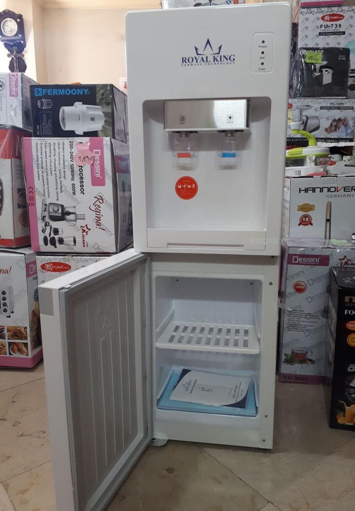 فروشگاه سوشیانت آبسردکن ایستاده یخچال دار  برند رویال کینگ فیلتردار قابلیت اتصال به آب شهری ( با کانکتور) تک رنگ
