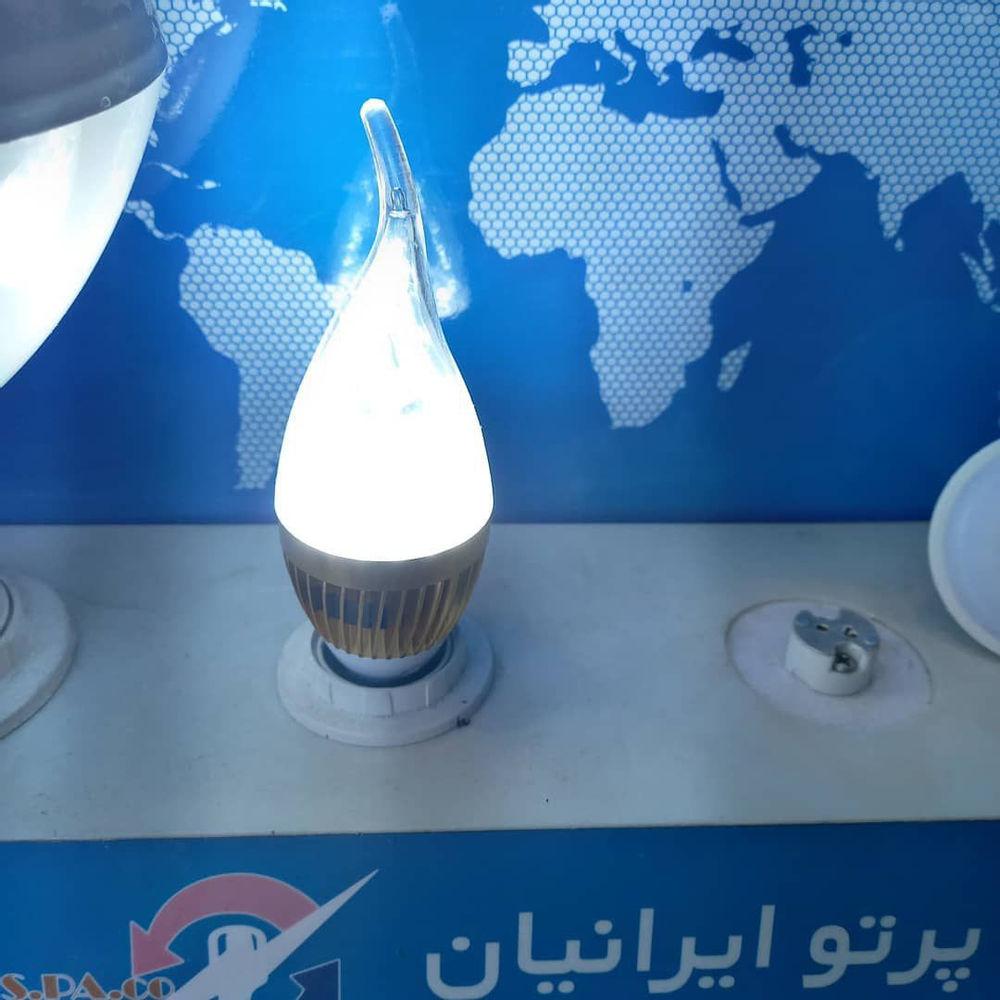 کالابرق وثوقی لامپ لوستری۷واتLEDفوق کم مصرف
