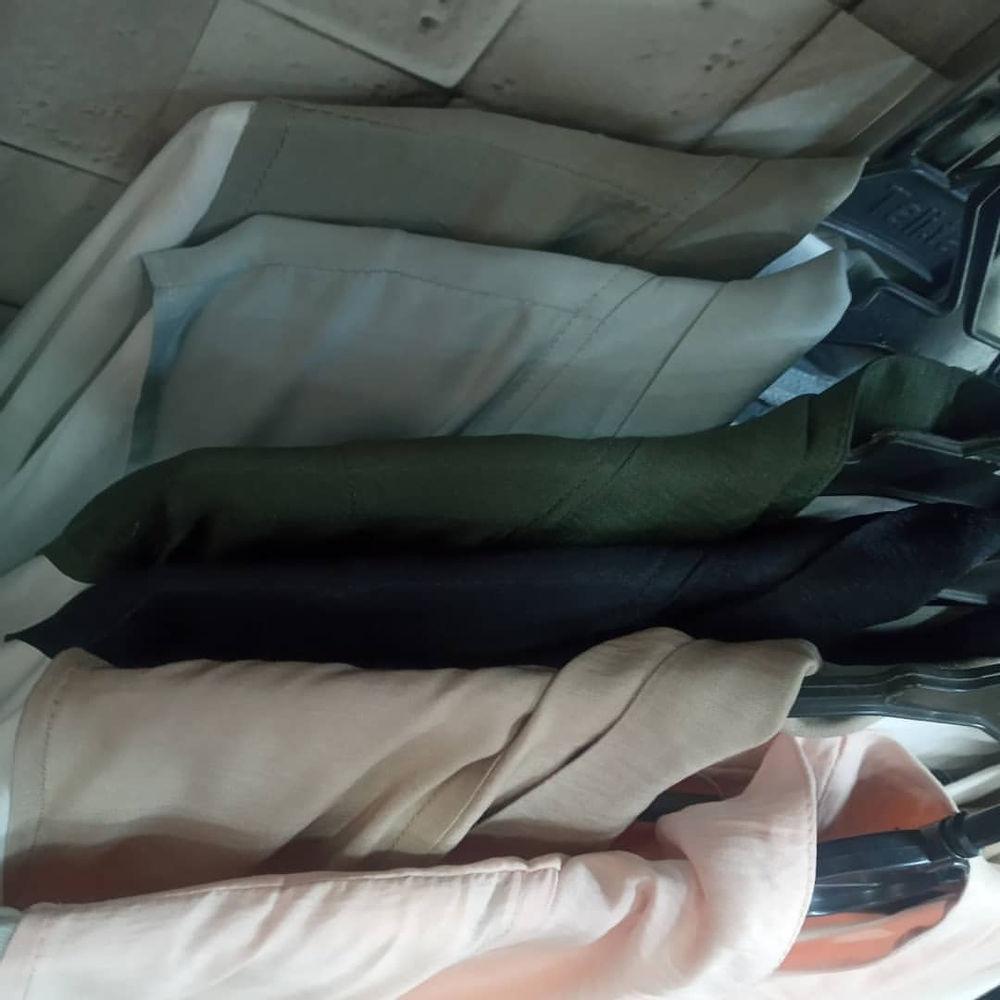 پوشاک زنانه شاپرک قبل از خرید از موجود بودن  رنگ و سایز خود در گفتگو  اطلاع دهید مانتو دو تیکه رنگ بندی در تصاویر  فری سایز