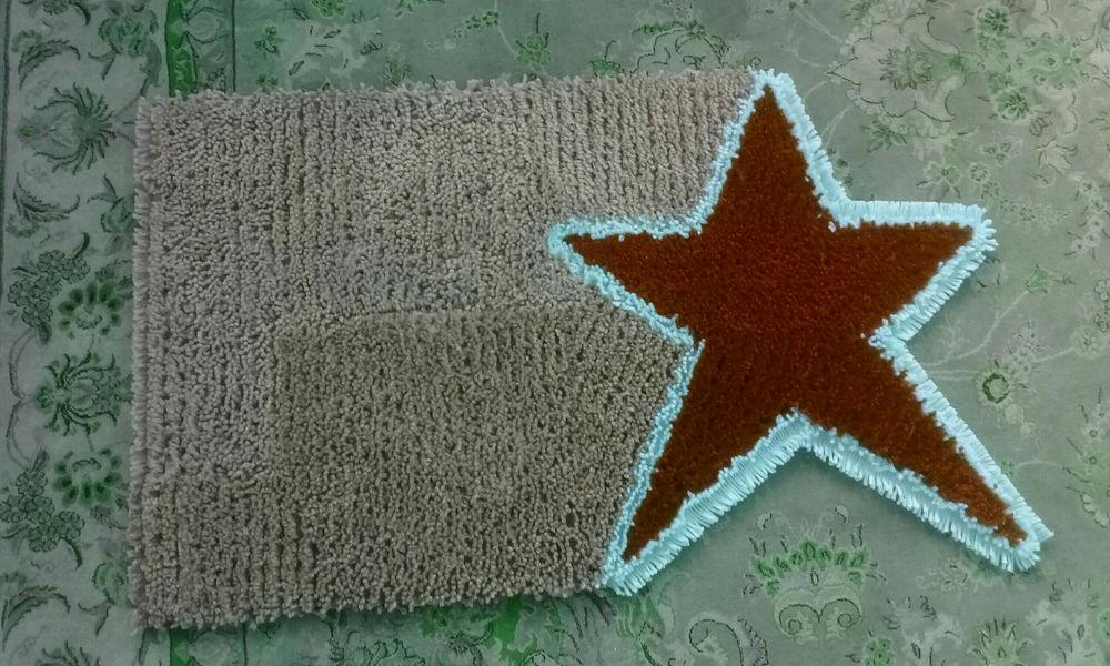دست سازه های نغمه کاموایی,دستبافت,قابل شستشو طرح ستاره ابعاد ۵۰ ×۸۰ رنگهای مختلف سفارش هم پذیرفته میشود,در طرح و رنگ دلخواه شما...