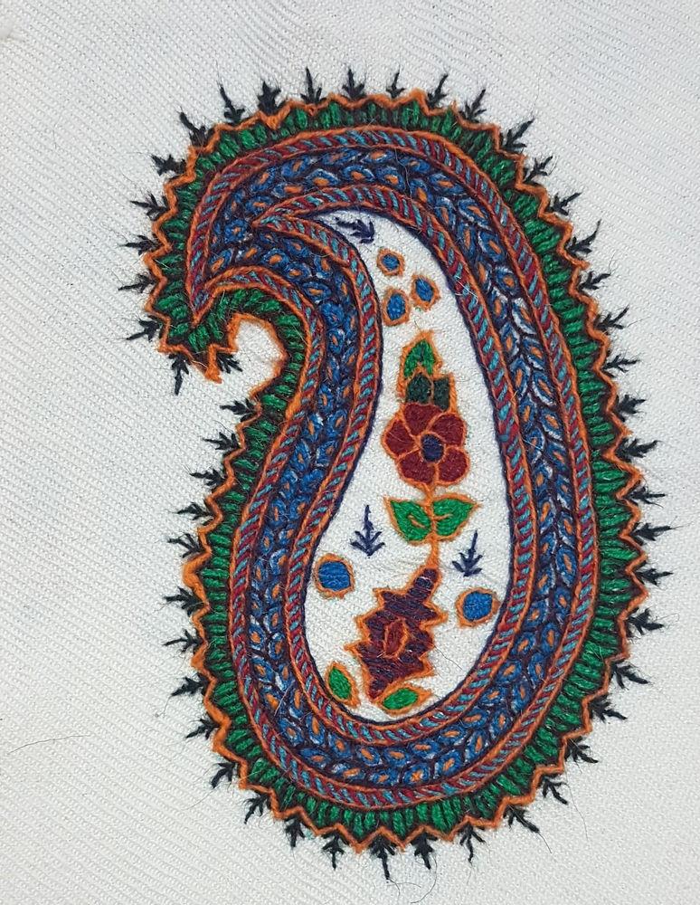 جهان پته سوزن دوزی سنتی پته از دوخت های سنتی کرمان