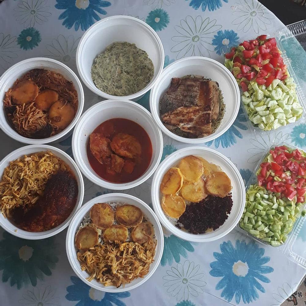 غذای خانگی روزانه انواع غذای خونگی سفارش مشتری عزیز #عدس_پلو  #دمی_استانبولی  #زرشکپلوبامرغ  #سبزی_پلو_ماهی  #ماکارونی  #سالاد_الویه  #سالاد_فصل  #غذای_خانگی  #غذای_ایرانی  #ماه_مهمانی_خدا  #ماه_رمضان