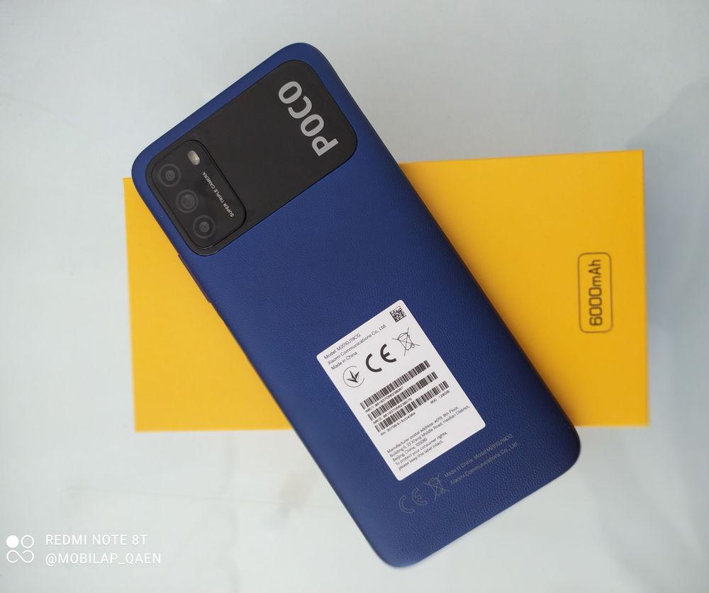 موبایلپ گوشی شیائومی poco m3  جایگزین  آ۱۲  و ...  128 حافظه داخلی رم ۴  دوربین ۴۸ سلفی ۱۳  باتری ۶۰۰۰ فست شارژ  خروجی تایپ سی پردازنده اسنپ دراگون در حد نوت ۸ و ۹  دارای فناوری کنترل هوشمند لوازم الکترونیک.    ۱۸ ماه گارانتی اصلی و ریجستری. پک گلوبال   فروش شرایطی بلند مدت نداریم. نهایتا بخشی یکماه با چک فقط صیاد  ۳۵۰۰ نقد ۱/۲0۰ ت چک یکماهه   قیمت نقدی استعلام بگیرید.  با توجه به نوسانات اخیر قیمت را استعلام بگیرید.  فروش و معاوضه فقط با سامسونگ،هواوی،هانر،شیائومی کارتن دار   مدل دقیق را از روی کارتن با حافظه بفرستید.    ارسال همه روزه از تهران و قاین  به سراسر وطن   شهرستان قاین _ بلوار شهید کاوه نرسیده به خیابان حافظ _ جنب عابربانک _ فروشگاه موبایلپ.
