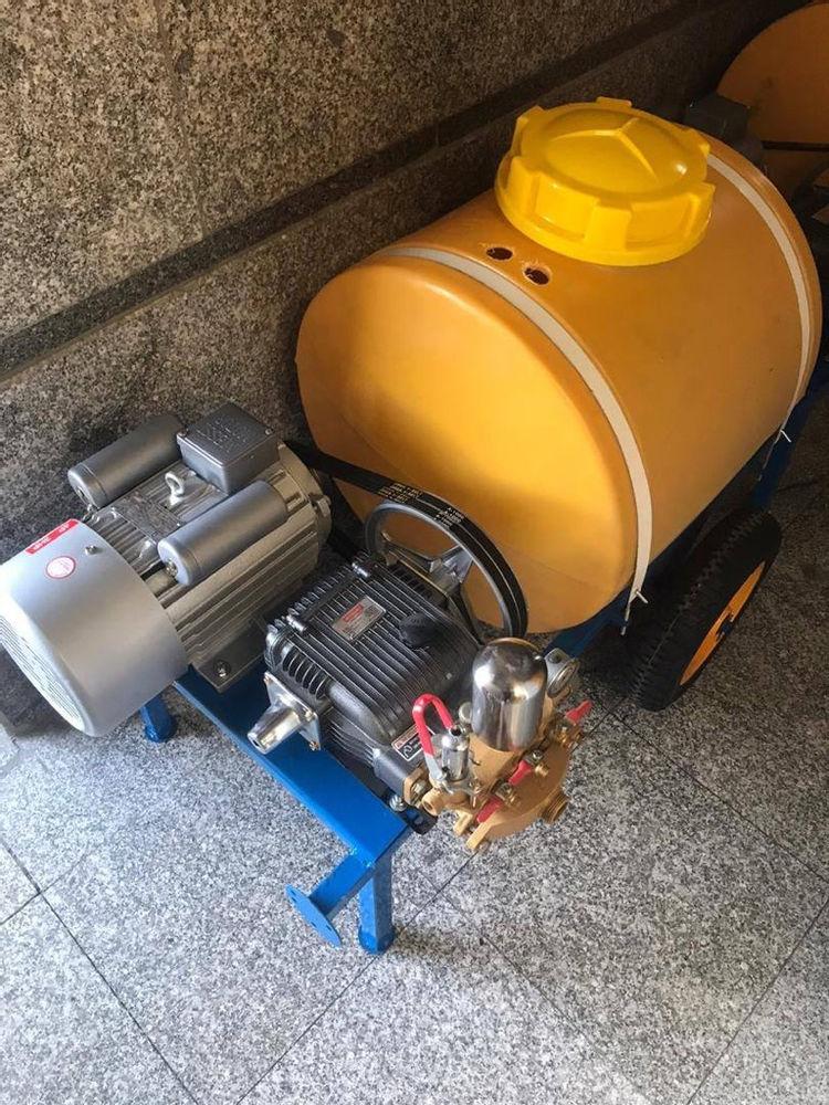 ابزار آلات ساختمانی و ادوات کشاورزی سمپاش صنعتی موتور ۳اسب ۱۲۰بار قدرت