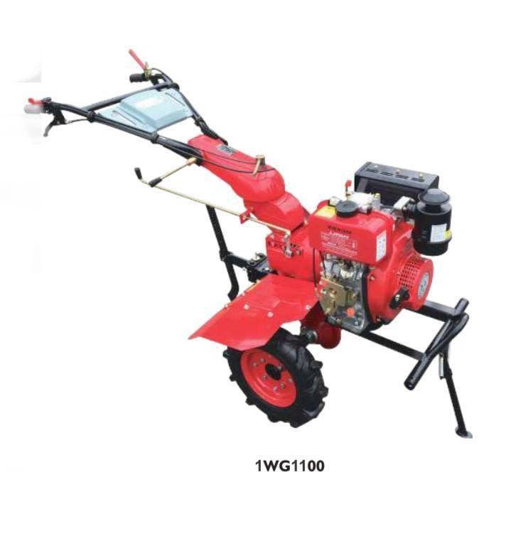 ابزار آلات ساختمانی و ادوات کشاورزی کلتیواتور کامل اورجینال ژاپن قدرت ۱۲ اسب بنزینی استارتی