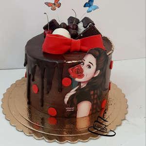 کیک و شیرینی خانگی وانیلا