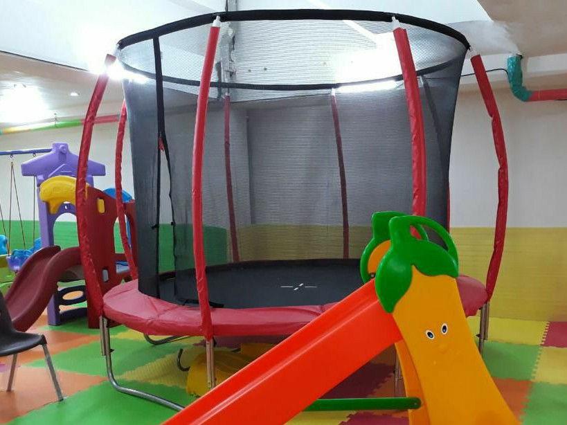 اسباب بازی، تجهیزات و وسایل مینی پارک و مهد کودک ترامپولین قطر ۳ ، گرید A استاندارد
