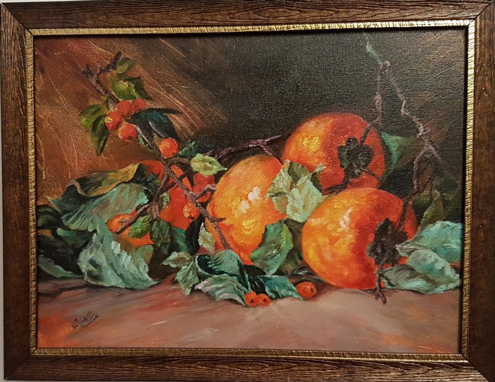 گالری علی نژاد تابلو رنگ روغن روی بوم با قاب سایز 30*40