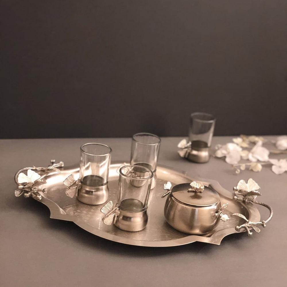 فروشگاه حاجی زاده  فنجان چای خوری پروانه نیکل سالینو لطفا برای استعلام موجودی عکس مورد نظررا در واتساب09151118953 ارسال کنید