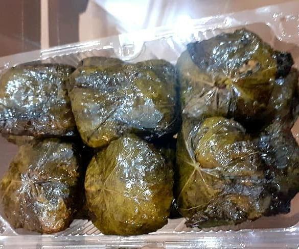 غذای خانگی روزانه دلمه برگ میرزاقاسمی سفارش خانم جلالی عزیز #دلمه_برگ_مو  #میرزاقاسمی  #غذای_خانگی  #غذای_ایرانی  #ماه_مهمانی_خدا  #ماه_رمضان