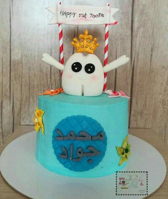 کیک و کوکی عسل کیک خانگی با تم درخواستی