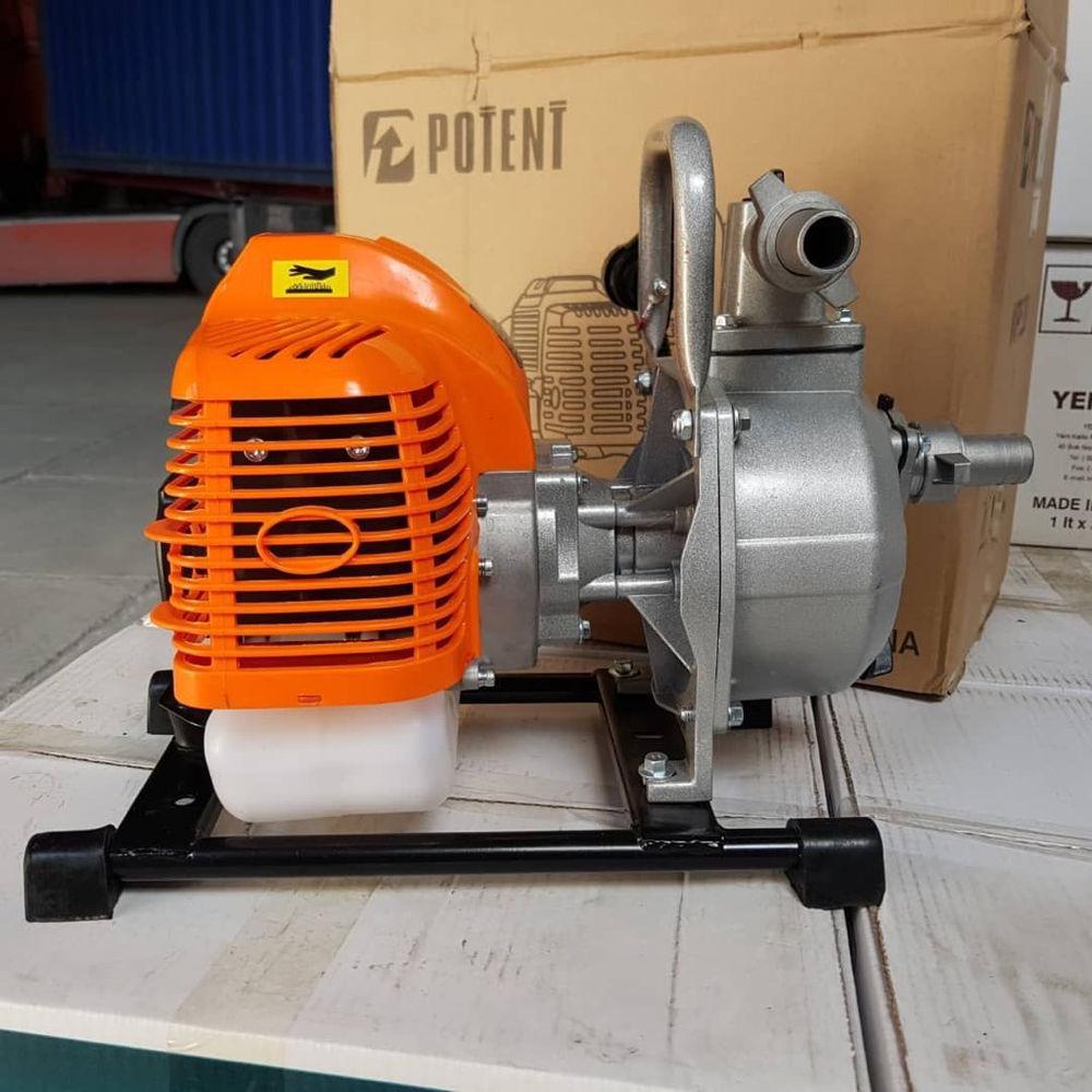 ابزار آلات ساختمانی و ادوات کشاورزی موتور پمپ دو زمانه بنزینی قدرت ۳اسب بخار