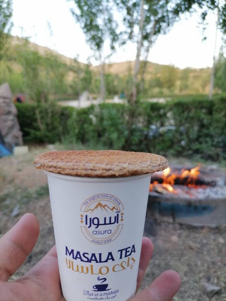 چای ماسالا با سیب سلامت