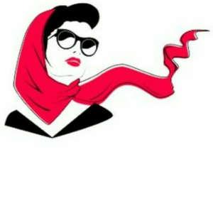 شال و روسری  روژان
